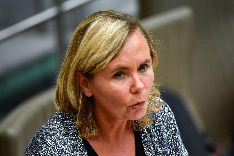 Vlaams minister van Armoedebestrijding Liesbeth Homans (N-VA).  Beeld BELGA