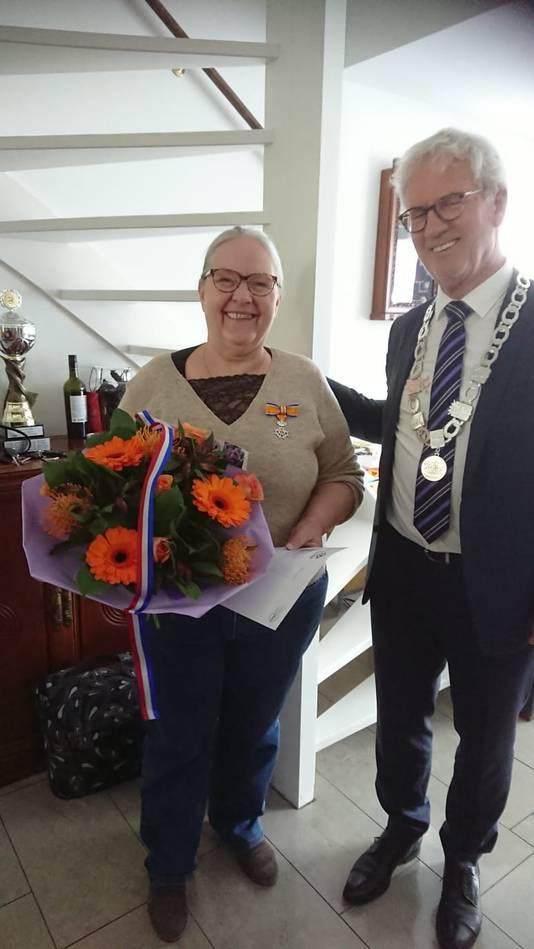 Berna de Kok-Vissers (66, Zevenbergen) - Lid in de Orde van Oranje-Nassau