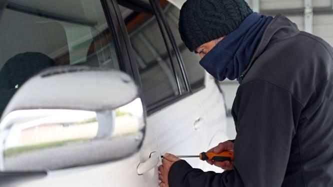 Twee inbraken in geparkeerde auto's