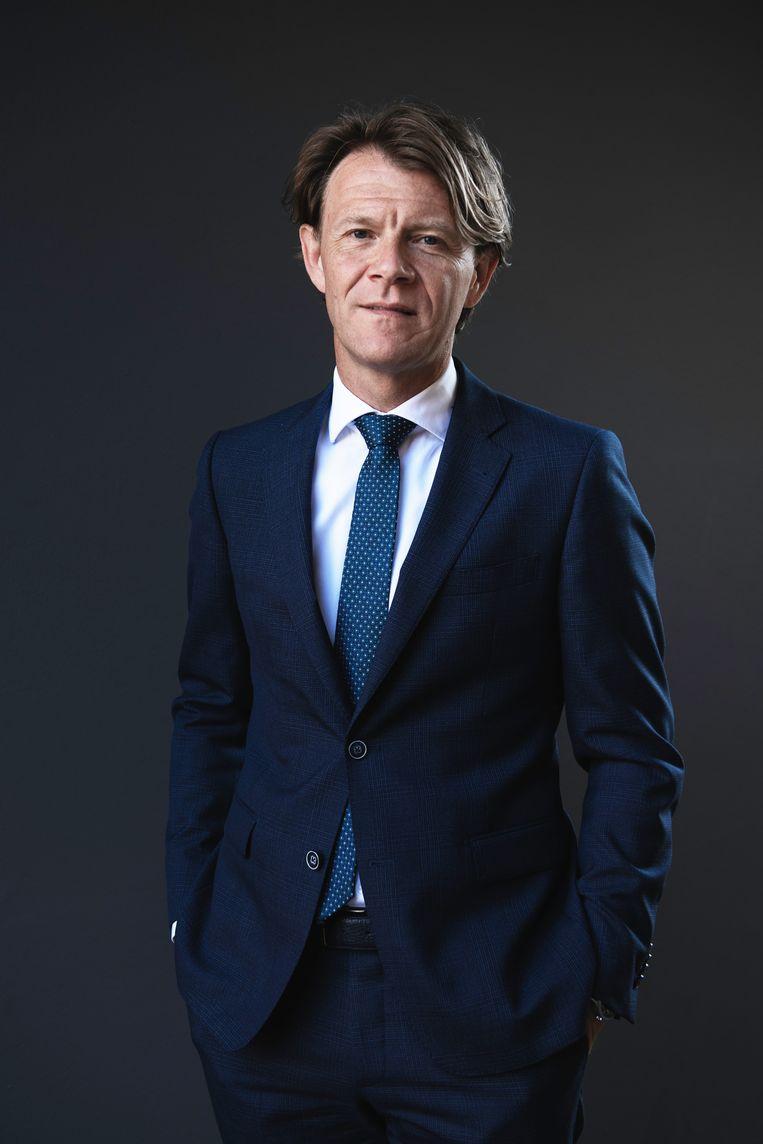 SCP-directeur Kim Putters maakt zich regelmatig zorgen over het tekort aan nationaal levensgeluk. Beeld Kiki Groot