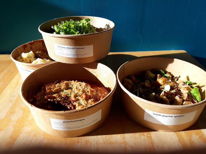 De vier gerechten van TARTElies