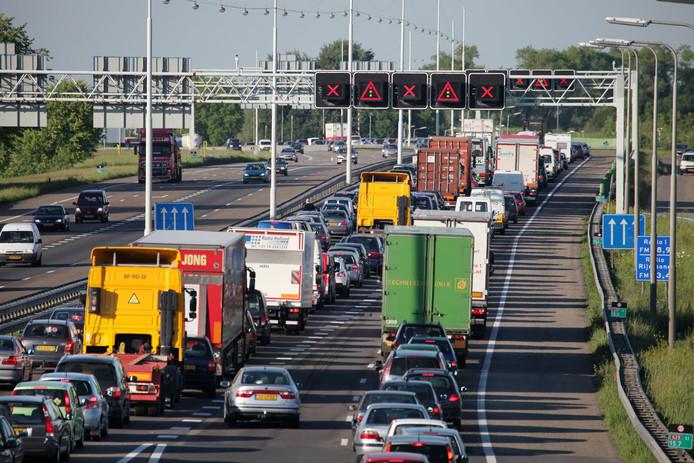 Ook komend weekeinde is er weer verkeersoverlast op de A29 en N217. Foto ter illustratie.