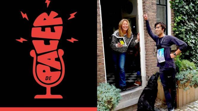 Podcast   Schrijver Ernest van der Kwast bracht zijn nieuwe roman al marathonlopend rond