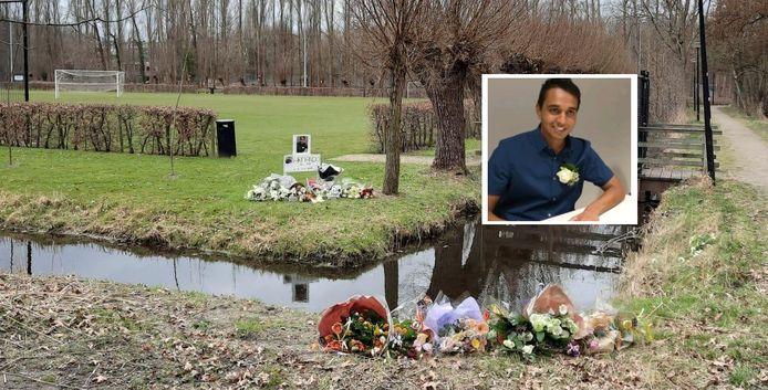 Gedenkplek voor doodgestoken Armando