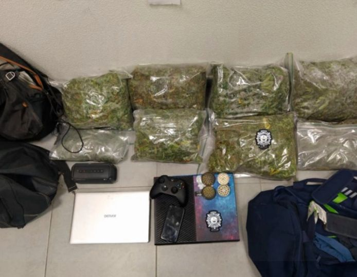 Twee Belgische drugstrafikanten gearresteerd in Spaanse regio Murcia
