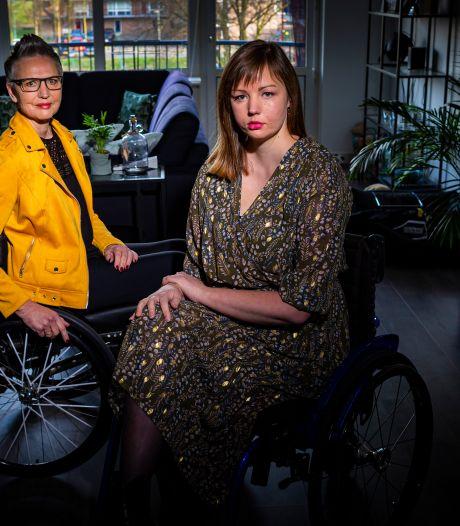 Erfelijke spierziekte FSHD treft moeder én dochter: 'Ik wil wel lachen, maar ik kán het niet'