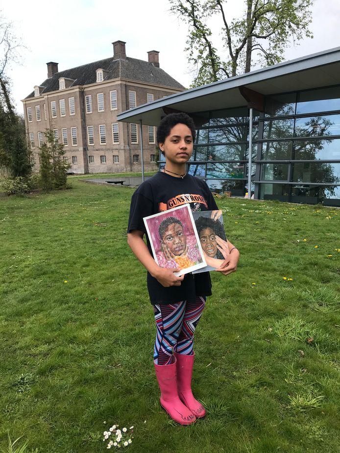 Het initiatief komt van Angelina Zweemer, de 14-jarige studente.