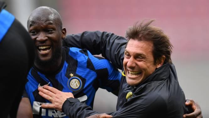 """Trainer Conte vertrekt bij Inter, ook gevolgen voor Romelu Lukaku? """"Je hebt me mentaal nog sterker gemaakt"""""""