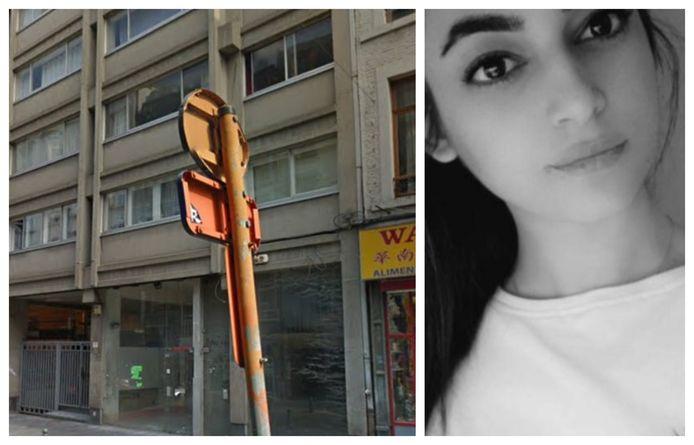 La jeune victime résidait dans un appartement Rue de la Cathédrale, dans le centre de Liège.
