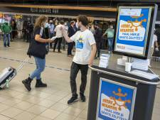 Ook in september ontvangt reiziger gratis zelftest op Eindhoven Airport