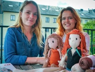 """Leen en Gaël stellen karuna popjes voor """"Een hulpmiddel in het rouwproces. We lopen hopeloos achter in België wat openheid over rouwen betreft"""""""