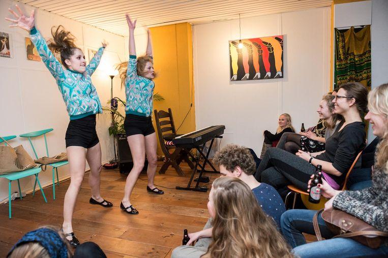 Stukafest: theatervoorstellingen in studentenkamers Beeld Mats van Soolingen
