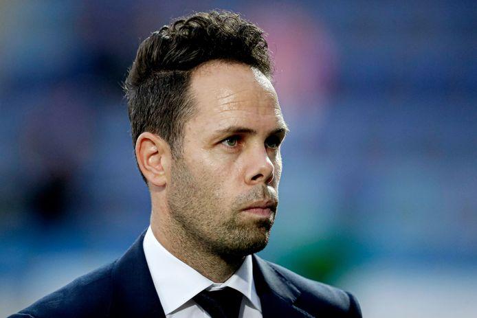 FC Den Bosch-trainer Erik van der Ven.