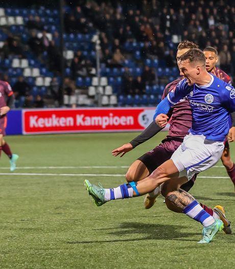 FC Den Bosch in blessuretijd onderuit tegen Telstar