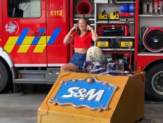 """""""Wij zijn bij de brandweer"""", zingen Samson en Marie live in kazerne Wetteren"""