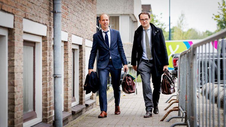 Advocaten Sander Janssen en Robert Malewicz bieden een ander perspectief dan de zwart-wit-optie van het OM Beeld anp