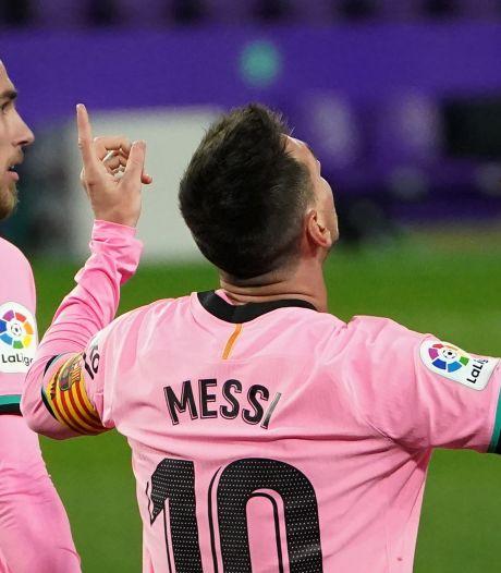 """Messi entre encore dans l'histoire: """"Je n'ai jamais pensé battre un seul record"""""""