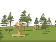 Kunstwerk van Rob Sweere in nieuwe Steigerpark op IJburg