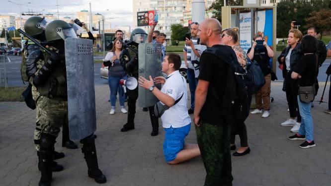 Ruim 1.000 arrestaties op derde avond van protesten in Wit-Rusland