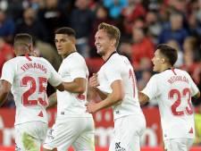 Luuk de Jong als pinchhitter ook goud waard voor Sevilla