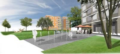 Drie Hoefijzers Noord in Breda  krijgt 32 meter hoog wooncomplex