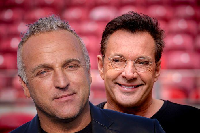 Gordon (links) en Gerard Joling