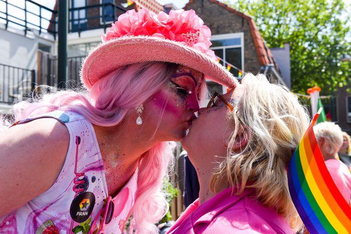 Roze Zaterdag werd in 2018 in Gouda gehouden.