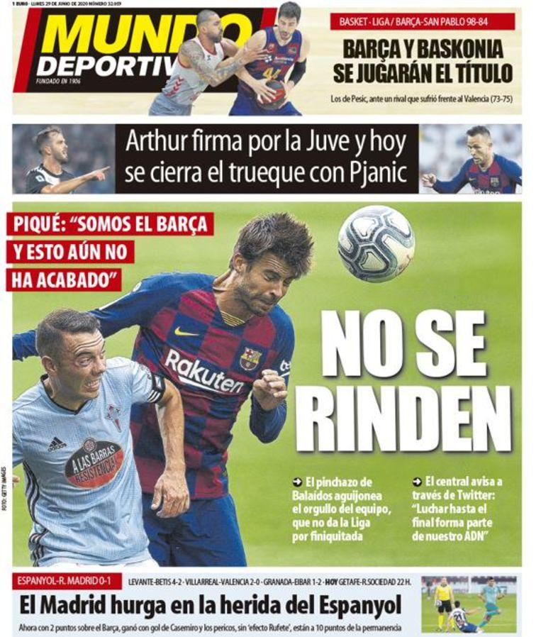 De front van El Mundo Deportivo