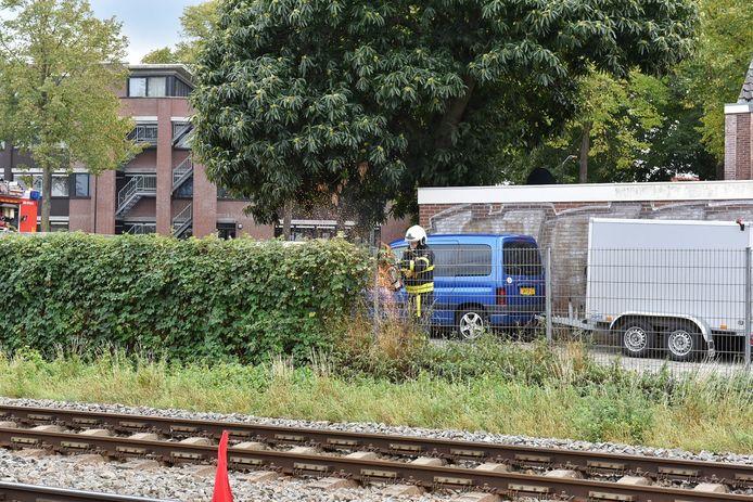 Problemen op het spoor in Oisterwijk.