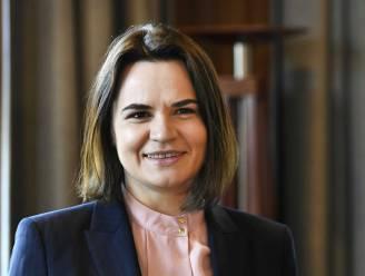 """Wit-Rusland """"niet meer op zoek"""" naar oppositieleider Tichanovskaja"""