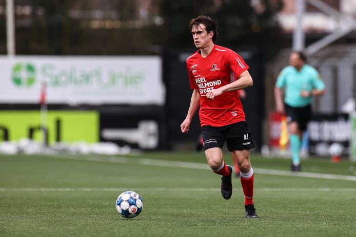 Boyd Reith mist de uitwedstrijd tegen Jong PSV vanwege een schorsing, hij pakte tegen Roda JC zijn vijfde gele kaart.
