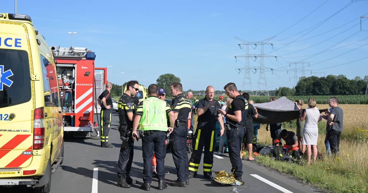 Dode en gewonden bij ongeval in Tilburg.