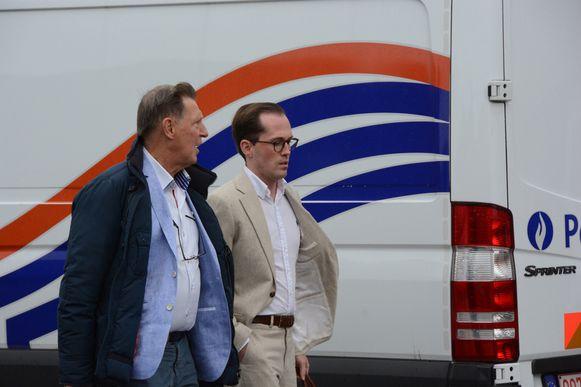 Voor de burgerlijke partij was Jef Vermassen aanwezig.
