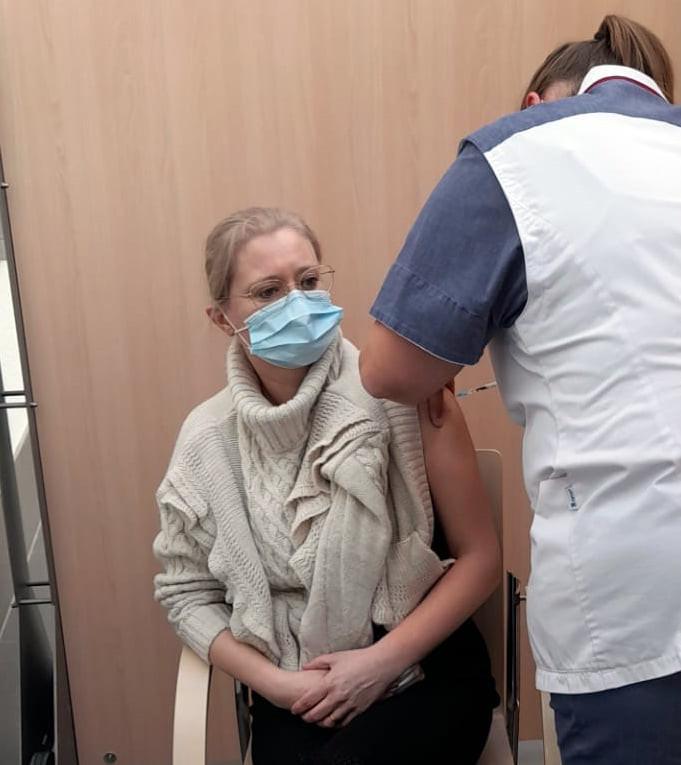 Ook in het Geelse ziekenhuis zijn de vaccinaties van start gegaan.