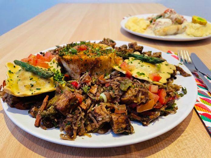 Takeaway bij restaurant 't Alternatief in Bornem
