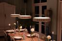 De hanglamp 'Drum', ontworpen en gemaakt door Gijs Ringeling en Daan Verbaan.