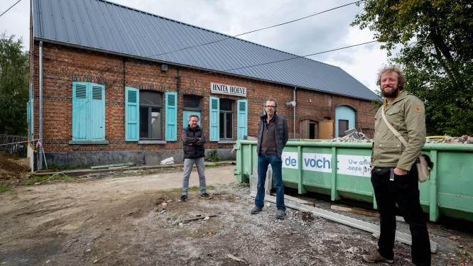 Hnita en Daan zoeken met ludiek filmpje sponsors voor renovatie van legendarische jazzhoeve