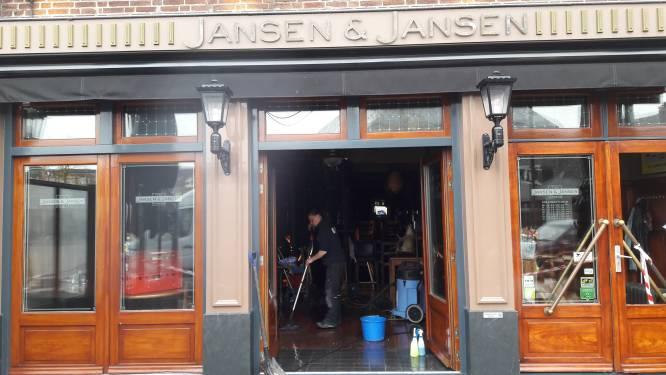 Eetcafé Schijndel durft nog geen openingsdatum te noemen na brand