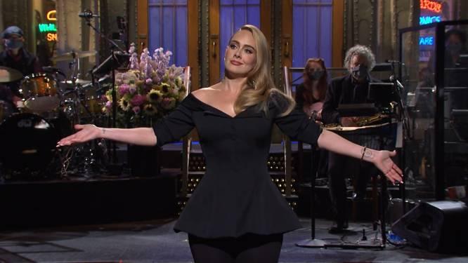 """Adele ontkent geruchten over relatie met rapper Skepta: """"Ik ben een single cat lady"""""""