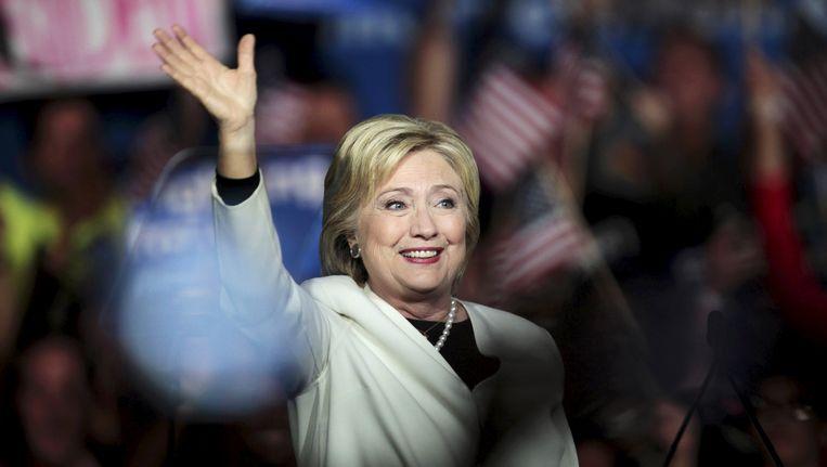 Hillary Clinton Beeld REUTERS