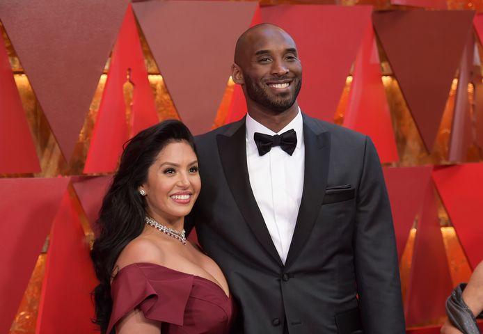 Vanessa en Kobe Bryant