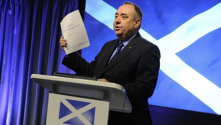 Schotse eerste minister Alex Salmond