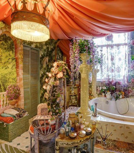 Kijk mee in het opvallendste huis dat nu te koop staat, Marilu werkte 26 jaar aan haar paleis