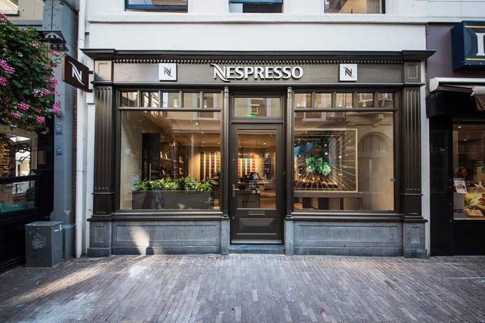De Nespresso-winkel in Arnhem.