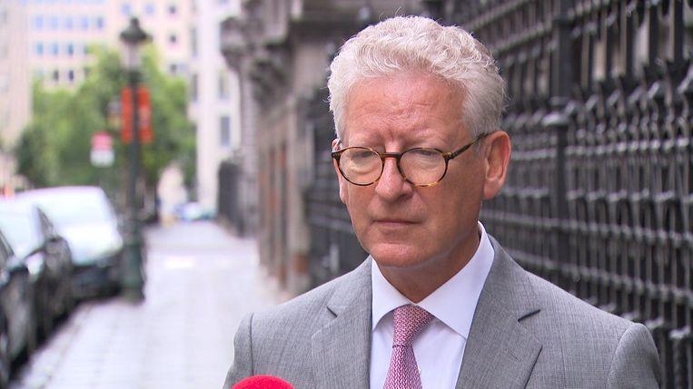 Minister van Binnenlandse Zaken en Veiligheid Pieter De Crem (CD&V). Beeld VTM Nieuws