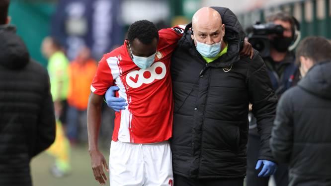 Domper voor Standard: seizoen van sterkhouder Bokadi zit erop