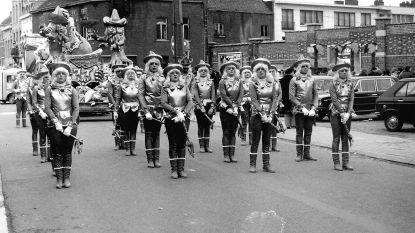 CARNAVAL HALLE: 1984 - Dei Van Sinte Roukes vieren elfjarig jubileum