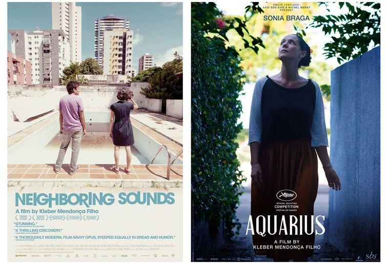 Neighboring Sounds en Aquarius, de eerdere speelfilms van Mendonça. Beeld