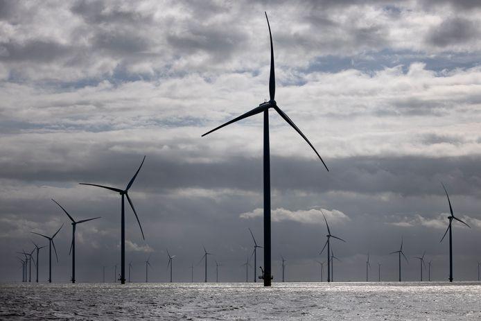 Windmolens, foto ter illustratie