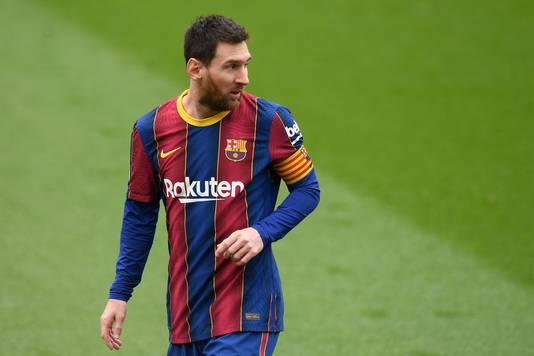 Messi in actie tegen Cádiz.